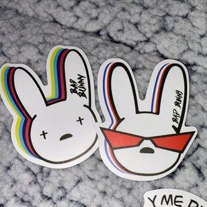 Bad bunny stickers